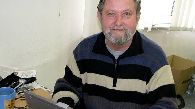 Fotograf a spisovatel Luděk Švorc.