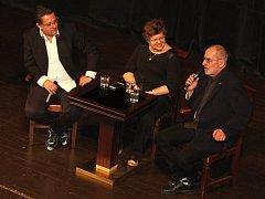V publiku panovala skvělá atmosféra, vtipné příhody doplnily největší italské hity.