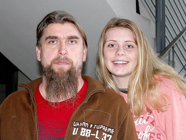 Barbora Bušková a Roman Bušek