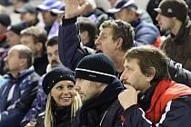 Jaroslav Kalla na ledě chyběl, sledoval marný boj spoluhráčů z hlediště // HC Vagnerplast Kladno - HC Třinec 4:6, O2  ELH 2010/11, hráno 21.1.2011