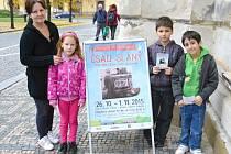 Výstava ve slánské Dobešce věnovaná ČSAD v neděli odpoledne končí.