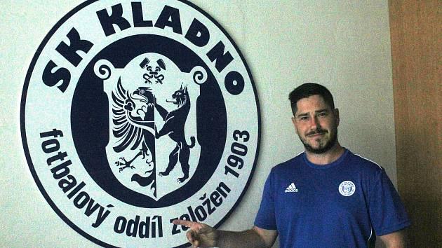 Nový trenér fotbalistů SK Kladno Dušan Binder.