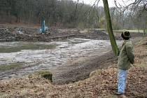 Šternberský rybník se již brzy dočká napuštění
