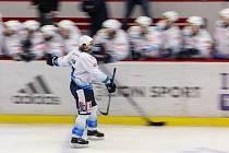 Čtvrtý zápas finále hokejové Chance ligy mezi HC Dukla Jihlava a Rytíři Kladno.