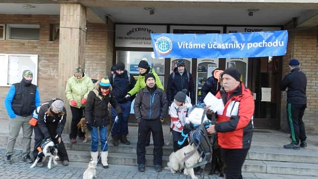 Silvestrovský pochod ve Stochově