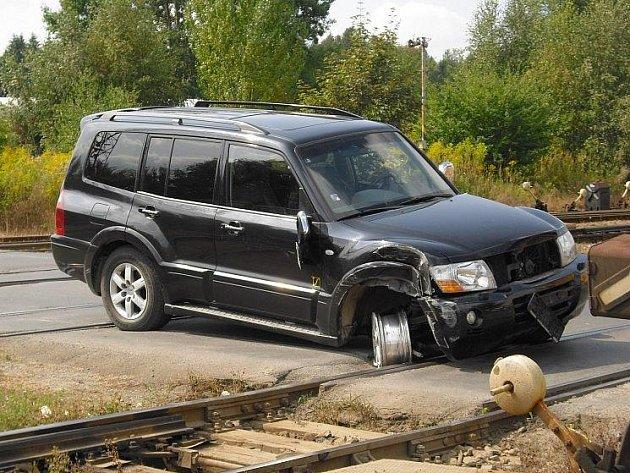 Opilec způsobil v loňském roce nehodu na železničním přejezdu u hlavního kladenského nádraží.