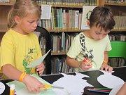 Děti tvořily na téma roční období.