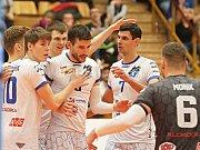 Kladno volejbal cz - Fatra Zlín 3:0, Extraliga volejbalu,  Kladno, 12. 1. 2019