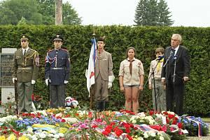 Pietní vzpomínka k 74. výročí vyhlazení obce Lidice se konala 11. června 2016