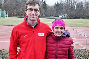 První závod poháru ovládli Vít Hlaváč a Lenka Koubková.