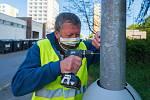 Oštítkované lampy pomohou i při dopravních nehodách.