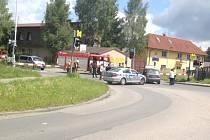 Nehoda se stala v pátek po 13. hodině.