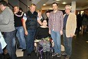 Hvězda Deníku - Hana Horálková, plavkyně a cyklistka mezi svými blízkými