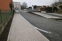 Ve Vítězné ulici skočila první etapa úprav veřejného prostoru.