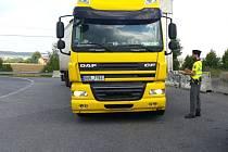 KONTROLY na silnicích kladenského okresu  pocítili především řidiči nákladních vozidel.