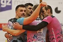 Kladno volejbal cz - VK Ostrava 2:3, Volejbalová EL mužů 24. 11. 2019