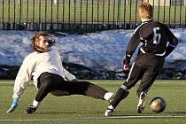 Velká Dobrá - Lidice 5:1 , Zimní liga SK Kladno 2011, hráno 16.1.2011