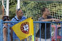 Utkání sledovali i Jaromír Šilhan a Roman Pavlík... // SK Kladno - FK Viktoria Žižkov 1:3 (0:3), utkání 3.k. 2. ligy 2010/11, hráno 22.8.2010