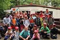 Mladí hasiči ze Žiliny vyrazili na výlet do Bozkovských jeskyní. Kromě toho si užili celotáborovou hru i dopolední tréninky.