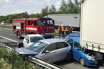 Při nehodě bylo zraněno celkem pět osob.