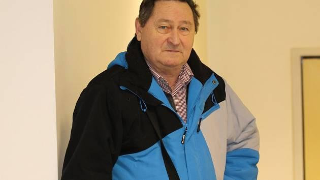 Jan Soldán, kladenský sportovní archivář.