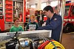 Návštěvníci obdivovali hasiče i jejich techniku.