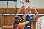 Kladno volejbal cz - Dukla Liberec 3:2, semifinále Extraliga volejbalu (stav 1:1), Kladno, 6. 4. 2018