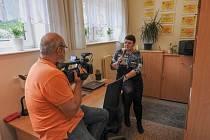 Farní charita Slaný otevřela nové charitní středisko v penzionu.