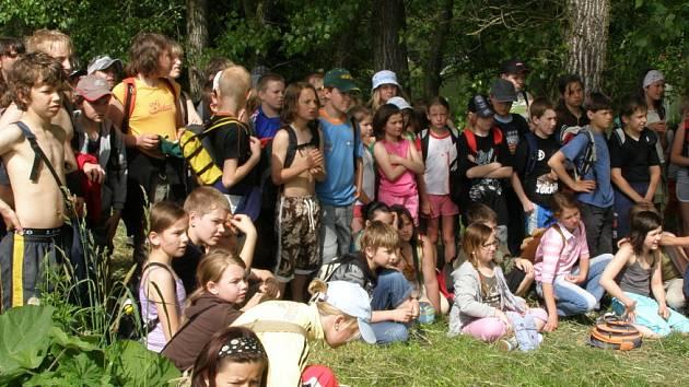 Den dětí v Unhošti.