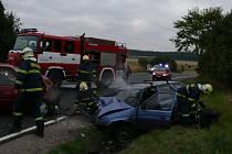 Tragická nehoda se stala v pondělí ráno mezi Kladnem a Velkou Dobrou.