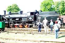 Železniční muzeum ve Zlonicích zahájilo sezonu.