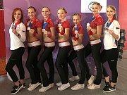 Sport Academy Kladno: bronz v kategorii stepy se sestavou Španělky