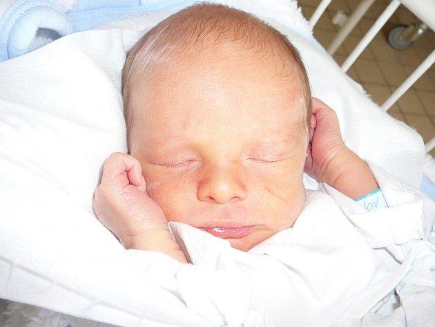 Ladislav Vosáhlo, Dřetovice. Narodil se 2. listopadu 2012. Váha 3,18 kg, míra 48 cm. Rodiče jsou Ludmila a Ladislav Vosáhlovi (porodnice Kladno).