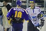 Nejlepšími hráči byli vyhlášeni Ivan  Rachůnek a Jan Piskáček //   HC Kladno - PSG Zlín 2:3pp, O2  ELH 2010/11, hráno 21.9.2010