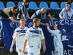 SK Kladno - FK SEKO LOUNY 3:2 (2:1), Divize B, 14. 10. 2017