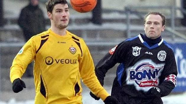 Kladno - Drážďany 0:1.