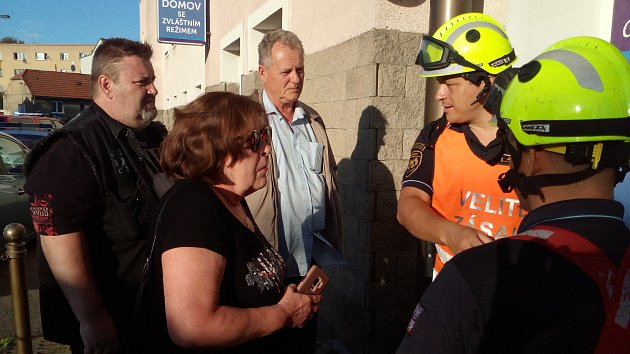 V Domově se zvláštním režimem v Unhošti v sobotu hořelo