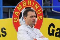 Trenér Martin Hřídel ... aby někdy měl z průběhu utkání svatozář