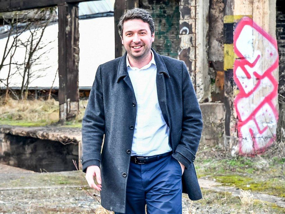 Někdejší náměstek primátora Jiránka a bývalý jednatel společnosti TEPO Lukáš Hanes.