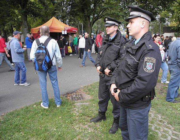 Při Dnech města Kladna naštěstí nikdo výrazně nezlobil a strážníci tak nemuseli řešit žádné konflikty.