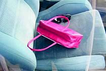 Ponechaná kabelka v autě. Tradiční lákadlo pro zloděje