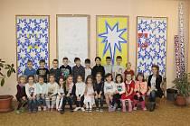 Žáci I. A ze 4. ZŠ Kladno pod vedením třídní učitelky Barbory Šebové.