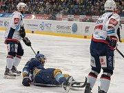 Kladno porazilo Piráty 2:1 góly z hokejky Jaromíra Jágra.
