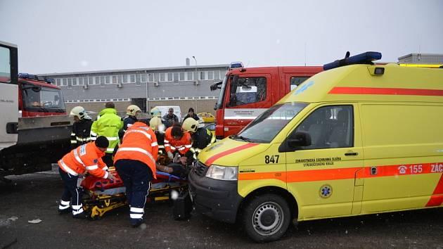 Dopravní nehoda v Kněževsi