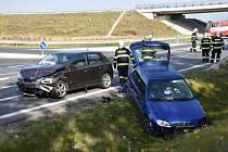 Vážná nehoda u Slaného.