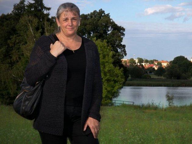 Starostka Unhoště Iveta Koulová (TOP 09).