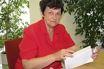 Stěžovatelka Zdenka Brabcová