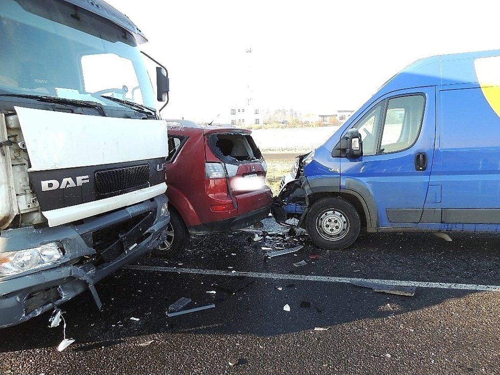 Pondělní nehoda u Malého Přítočna