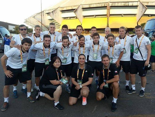 Český akademický futsalový tým na mistrovství světa 2016.