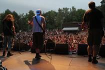 Festival Rock na valníku.